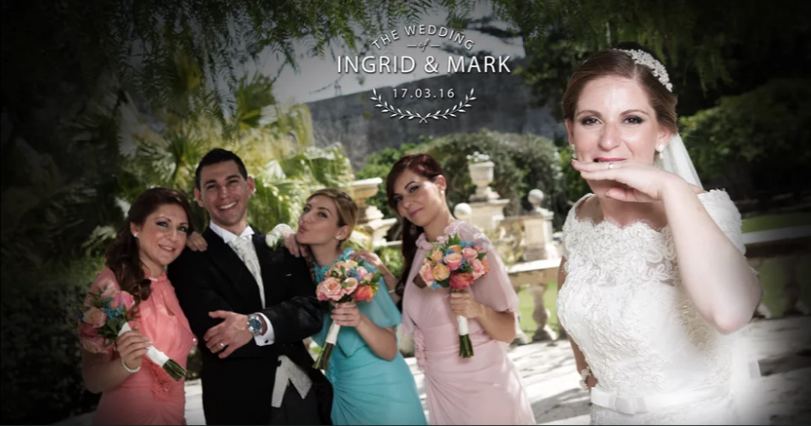 Ingrid & Mark wedding Highlight